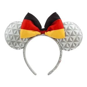 🇩🇪 Disney Parks Epcot Germany Minnie Mouse Ears